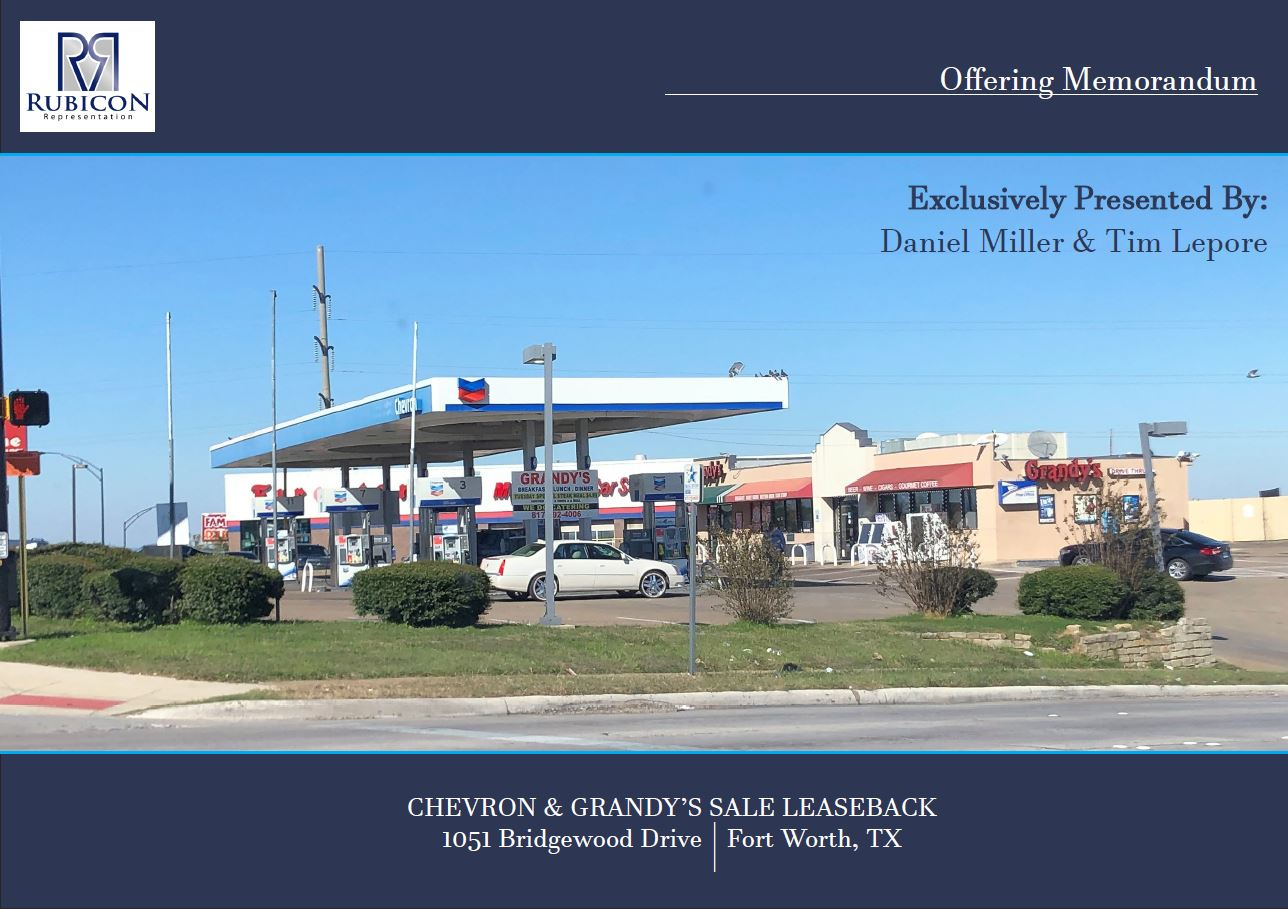 Chevron Grandy's Sale Leaseback